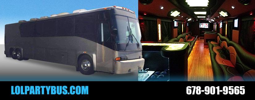 Book Atlanta Party Bus Services
