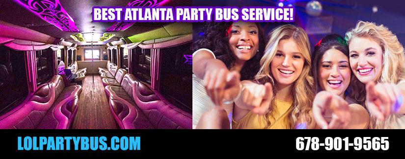 Atlanta Party Bus Service Rentals