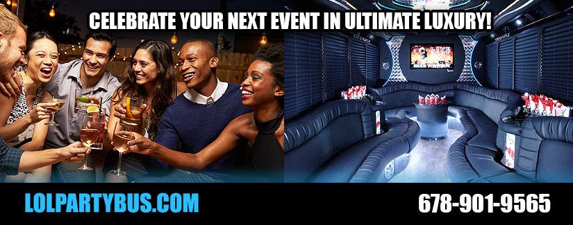 Atlanta Limo Party Bus Service Rentals