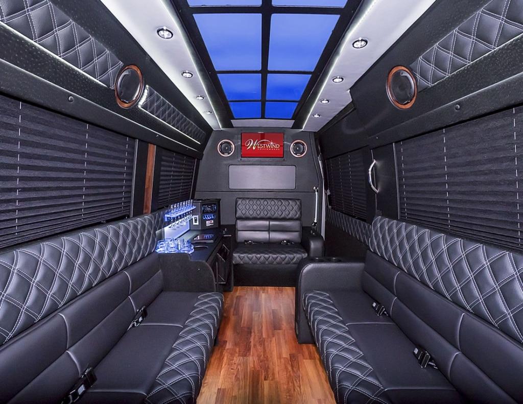 12 pass atlanta limo sprinter rental