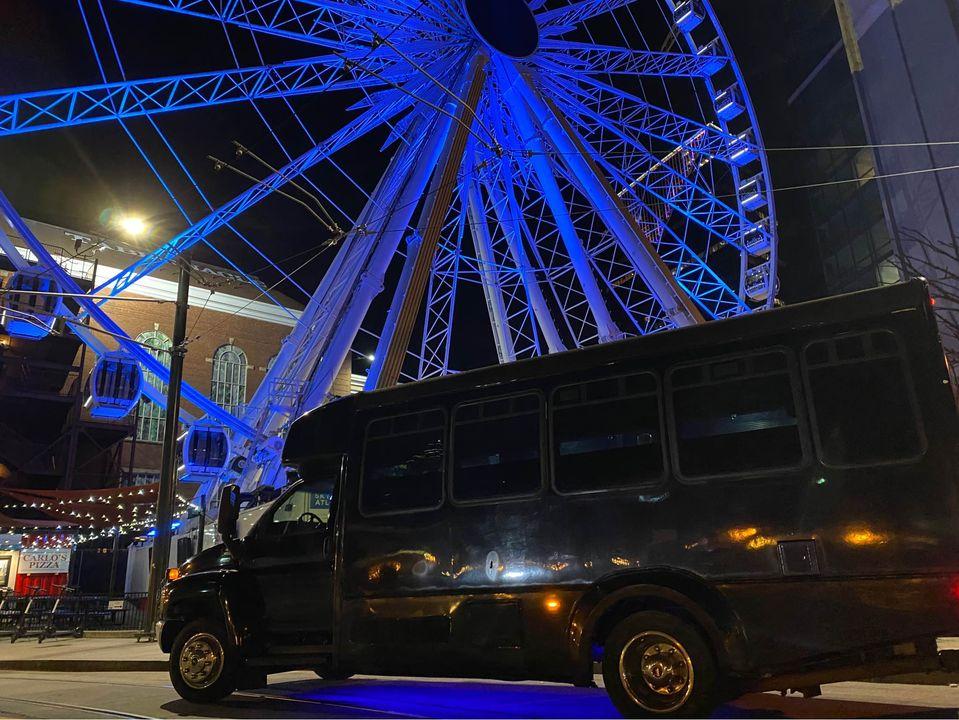 20 pass atlanta party bus rental